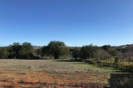 Building plot for two villas with beautiful country views near Boliqueime